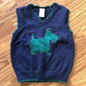 Scottie Dog Sweater Vest